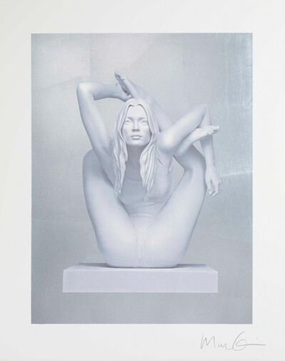 Marc Quinn, 'Kate Moss on Silver', 2012