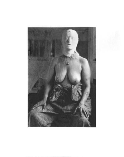 Kiki Smith, 'Face In Plaster', 1996