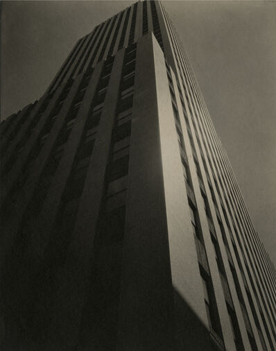 Ira Martin, 'New York Daily News Building, 220 East 42nd Street (Following the Lines of a Skyscraper)', ca. 1930