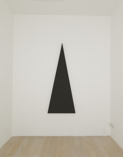 Alan Charlton, 'Triangle Painting', 2013