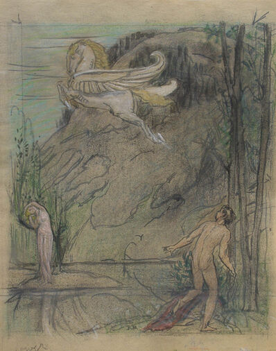 Bryson Burroughs, 'Pegasus', ca. 1925