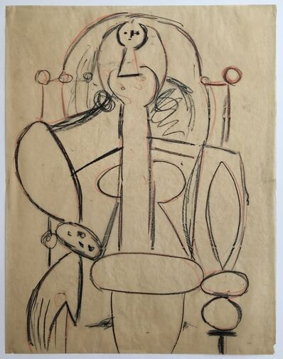 Pablo Picasso, 'Woman in an Armchair', 1947