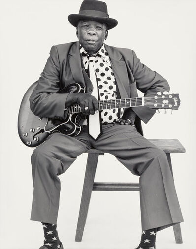 Mark Seliger, 'John Lee Hooker', 1990