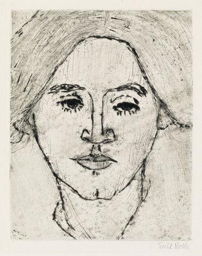 Emil Nolde, 'Frau N. (Frau Ada Nolde).', 1911