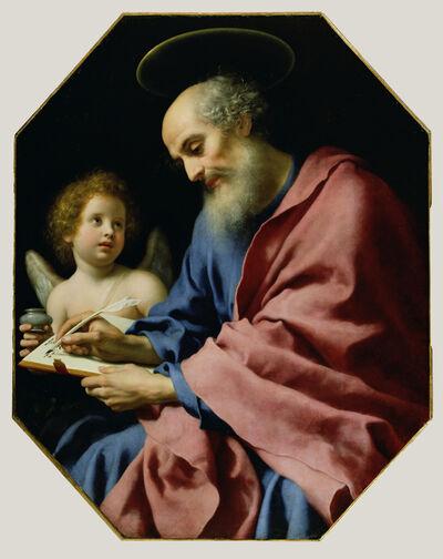 Carlo Dolci, 'St. Matthew Writing His Gospel', 1670