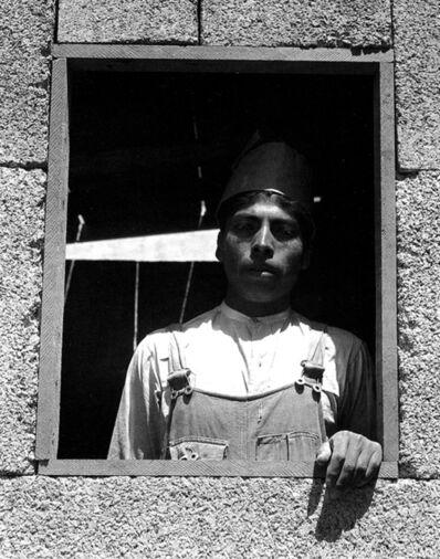 Manuel Álvarez Bravo, 'Retrato con marco', 1933