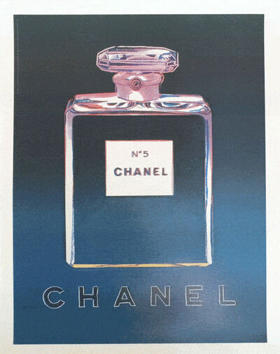Andy Warhol, 'Chanel No 5 by Andy Warhol (Blue)', 1997