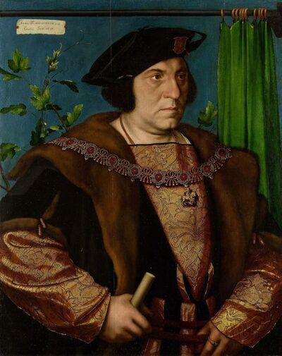 Hans Holbein the Younger, 'Sir Henry Guildford (1489-1532)', 1527