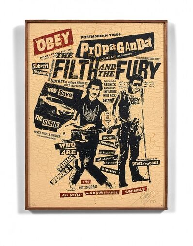 Shepard Fairey, 'The filth and the fury ', 2006