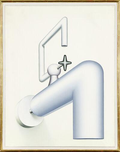 Konrad Klapheck, 'Die Selbstsichere', 1970