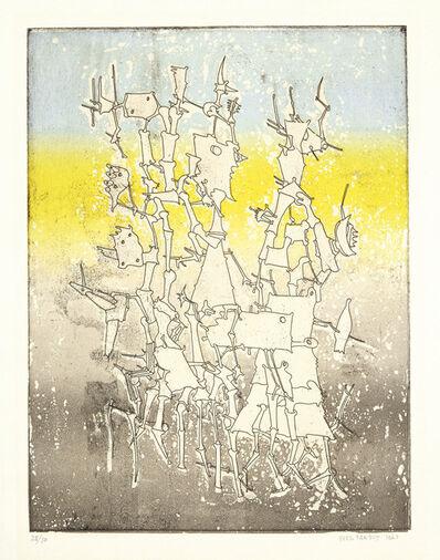 Yves Tanguy, 'Rhabdomancie, from Brunidor Portfolio Number I', 1947