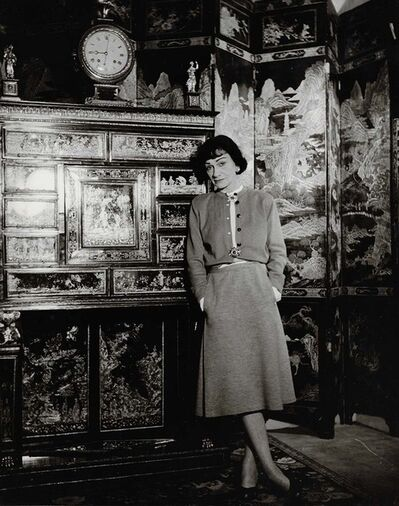 Louise Dahl-Wolfe, 'Coco Chanel in her Apartment', 1954