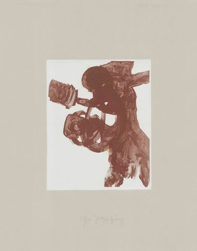 Joseph Beuys, 'Schwurhand: Foetus', 1970-1980