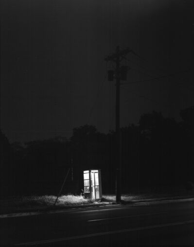 George Tice, 'Telephone Booth, 3am, Rahway, NJ', 1974