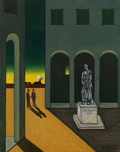 Giorgio de Chirico, 'Piazza d'Italia', 1970