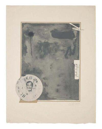Jasper Johns, 'Souvenir 1', 1972