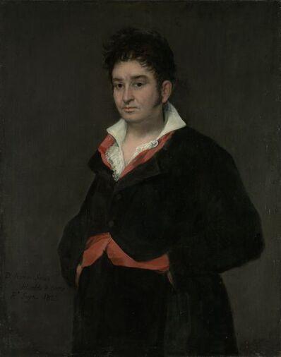 Francisco de Goya, 'Portrait of Don Ramón Satué', 1823