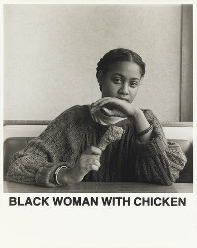 Carrie Mae Weems, 'Black Woman With Chicken', 1987