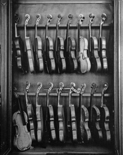 Arnold Newman, 'Violins, Philadelphia, PA', 1941