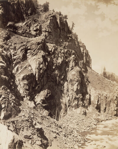 William Henry Jackson, 'Canyon of the Rio Las Animas', 1886