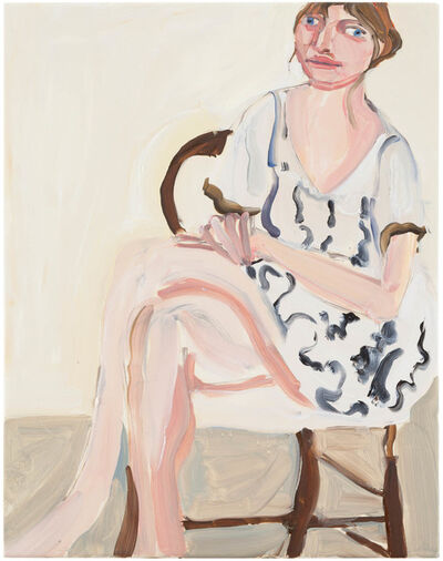 Chantal Joffe, 'Megan Seated', 2013