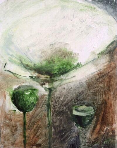 """Olga Gorokhova, '""""White poppy""""', 2017"""