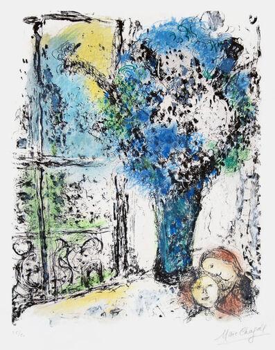 Marc Chagall, 'Le Bouquet Bleu (The Blue Bouquet)', 1974