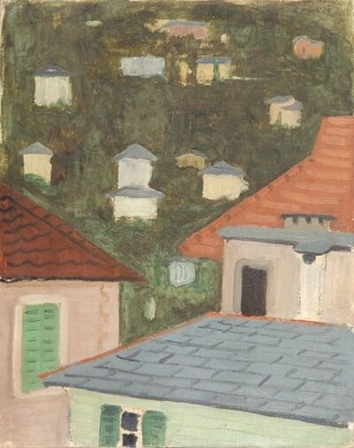 Rolando Monti, 'Paesaggio', probably 1948