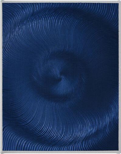 Giacomo Santiago Rogado, 'Coalescence (Iridescent Blue Black S)', 2018