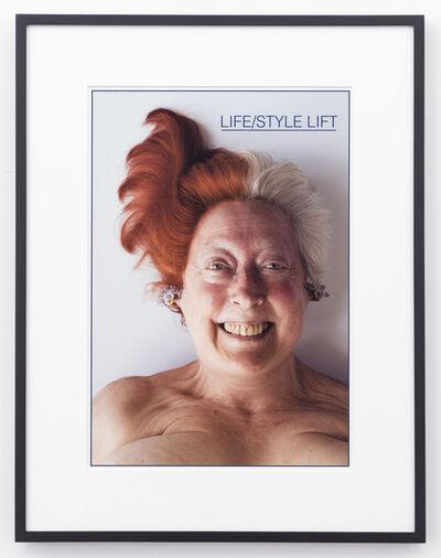 Martha Wilson, 'Life/Style Lift', 2014