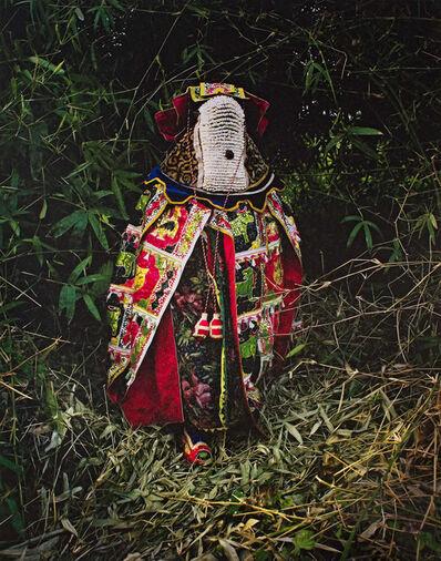 Leonce Raphael Agbodjelou, 'Egungun Masquerades XIV'