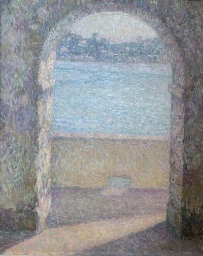 Henri Eugène Le Sidaner, 'La Porte de la mer, Villefranche-sur-Mer', 1926