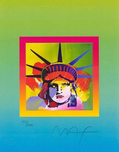 Peter Max, 'Liberty Head on Blends IV', 2005