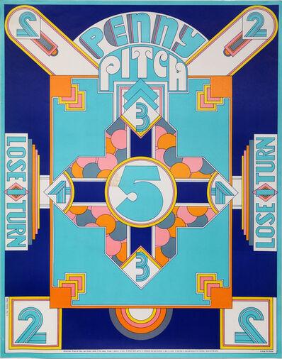 Seymour Chwast, 'Penny Pitch', 1967