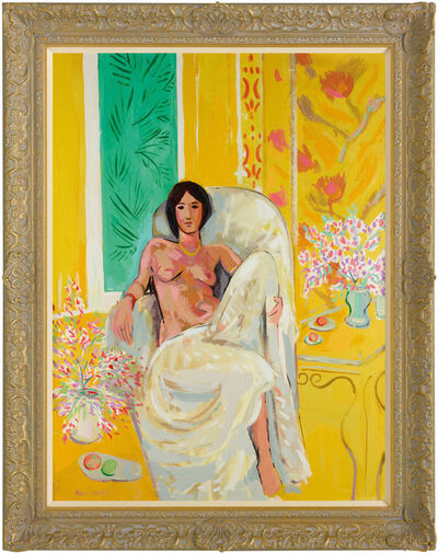 John Myatt, 'Yellow Odalisque - In The Style of Henri Matisse', 2012