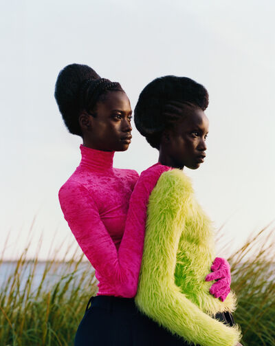 Tyler Mitchell, 'Untitled (Two Girls Embrace)', 2018