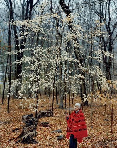 Doug DuBois, 'My Mother in the Backyard, Oldwick, NJ', 2000