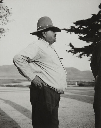 Dorothea Lange, 'Pea Contractor, Nipomo, California', ca. 1930