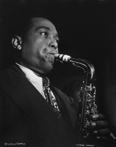 William Gottlieb, 'Charlie Parker, NYC', 1947