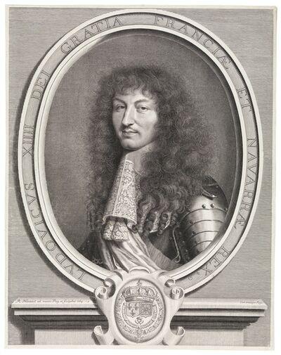 Robert Nanteuil, 'Ludovicus XIIII Dei gratia Franciae et Navarrae rex', 1664