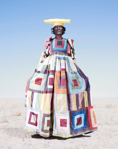 Jim Naughten, 'Herero Woman in Pattern Dress', 2012