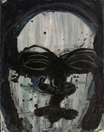 Lester Johnson, 'Head', 1962