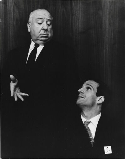 Philippe Halsman, 'Alfred Hitchcock and Francois Truffaut', 1962