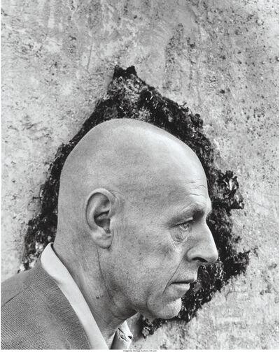 Arnold Newman, 'Jean Dubeffet', 1956
