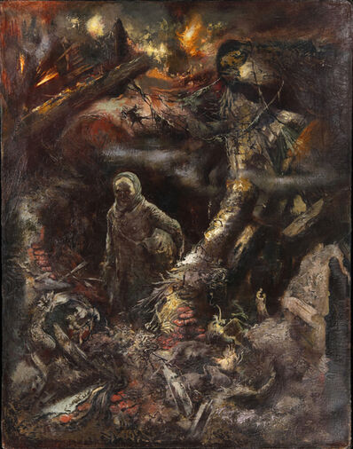 George Grosz, 'Peace I (Frieden)', 1945