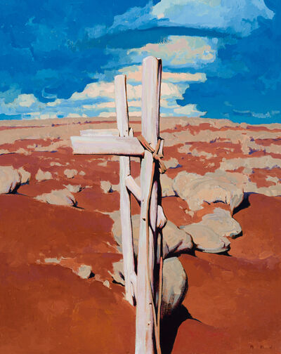 "Brett Allen Johnson, '""The Hitching Post"" ', 2019"