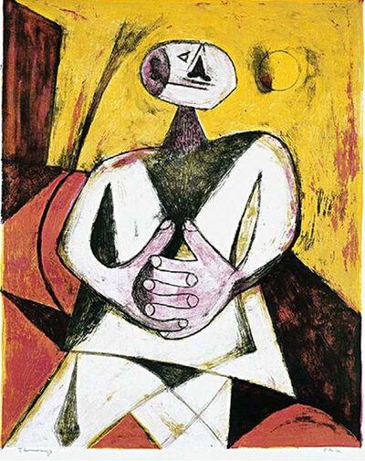 Rufino Tamayo, 'HOMBRE', 1950