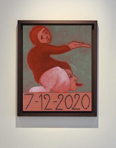 Francesco Clemente, '7/12/2020', 2020