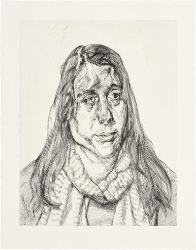 Lucian Freud, 'Portrait Head', 2001