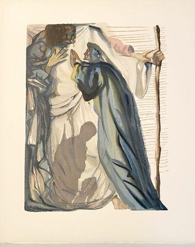 Salvador Dalí, 'La Divine Comédie - Purgatoire 14 - Un esprit interroge Dante', 1963